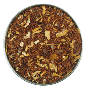 A rooibos tea with added chocolate and orange