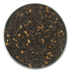 Aerial view of Cinnamon Black Tea by True Tea Company